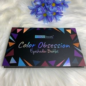 Beauty Treats Color Obsession Eyeshadow Booklet